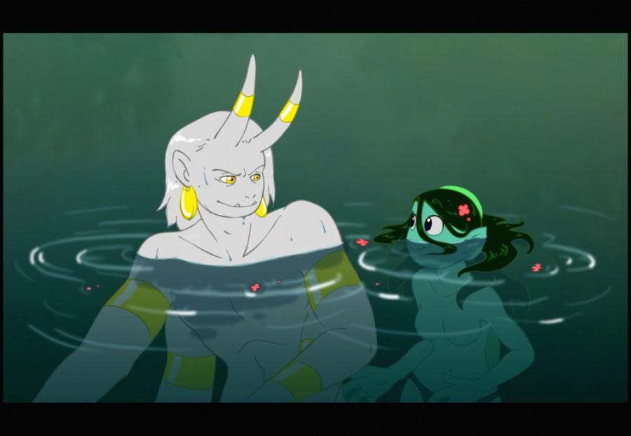 Demon Swim manalanextdoor.com